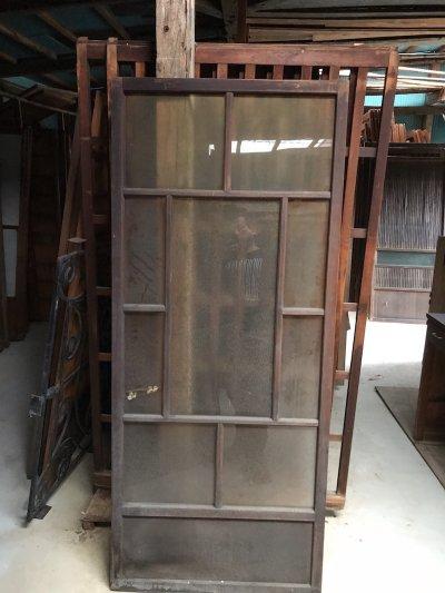 画像2: ガラス玄関格子戸